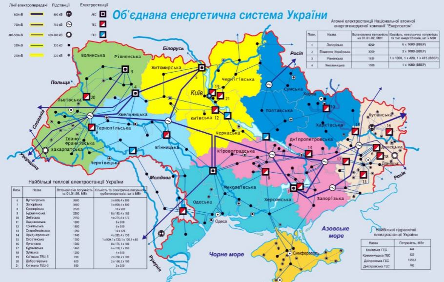 Master Plan for the South Ukraine Regional Transmission Network Development including Solar and Wind Power Integration